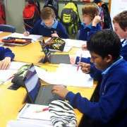 Boys Studying Computers